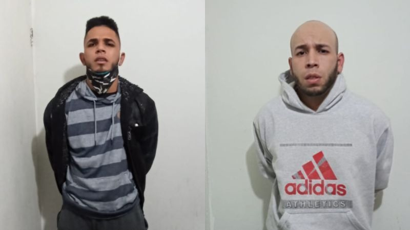 Los sospechosos fueron detenidos en el asentamiento humano Ancieta Alta.