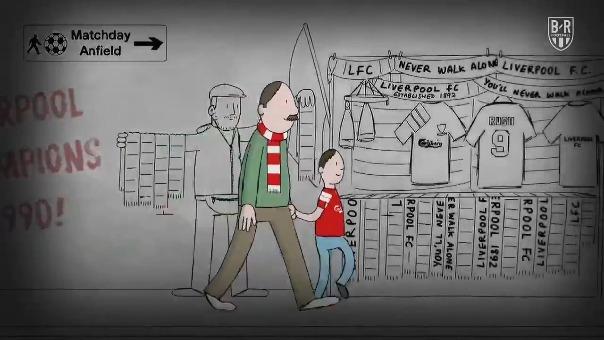 El video de Liverpool que causa furor en las redes.