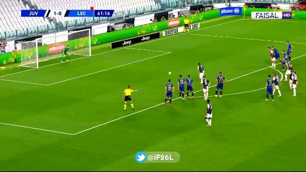 Gol de Cristiano Ronaldo.