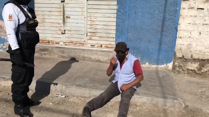 Hombre fue intervenido por serenos de la Municipalidad Provincial de Tacna