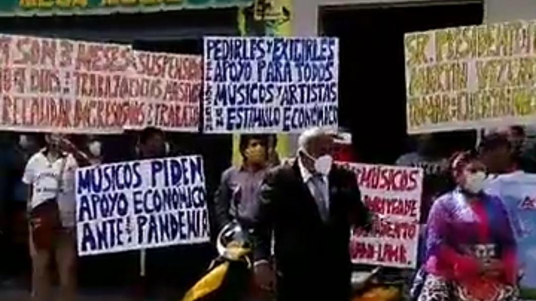 Músicos esperan apoyo del Gobierno Central