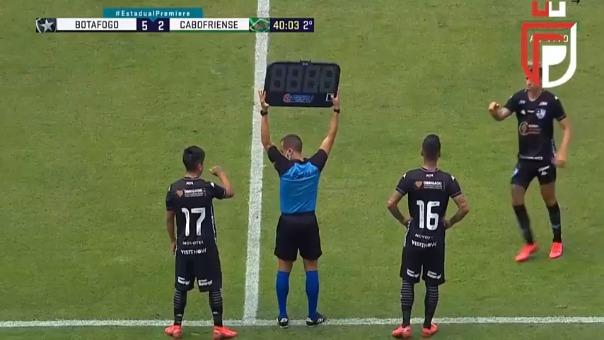 Alexander Lecaros en Botafogo.