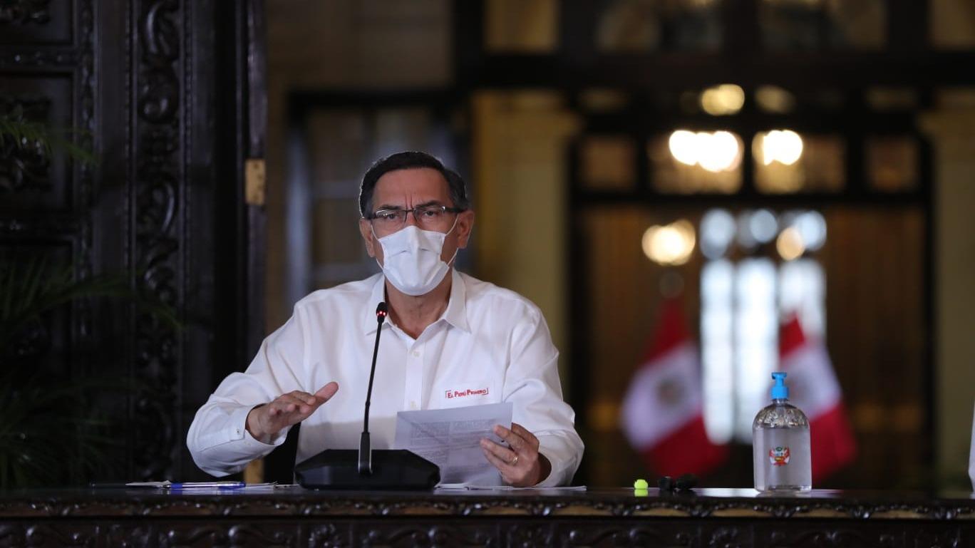 Presidente Vizcarra anunció la llegada de más ventiladores mecánicos.
