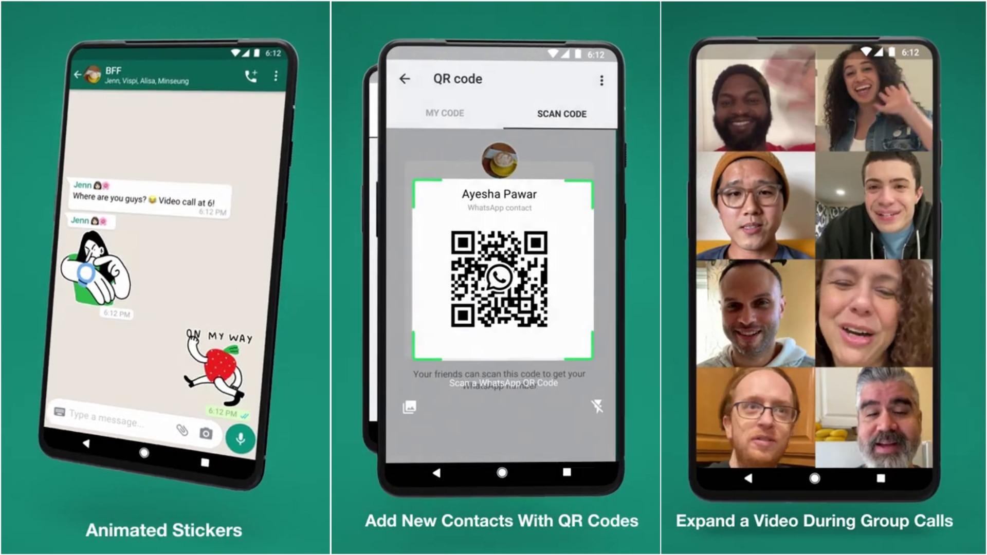 WhatsApp implementará estas novedades.