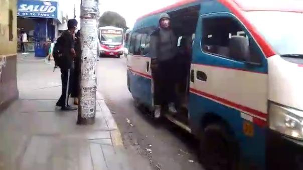 En Trujilllo, solo el 50% de las unidades de transporte público tienen autorización para circular.