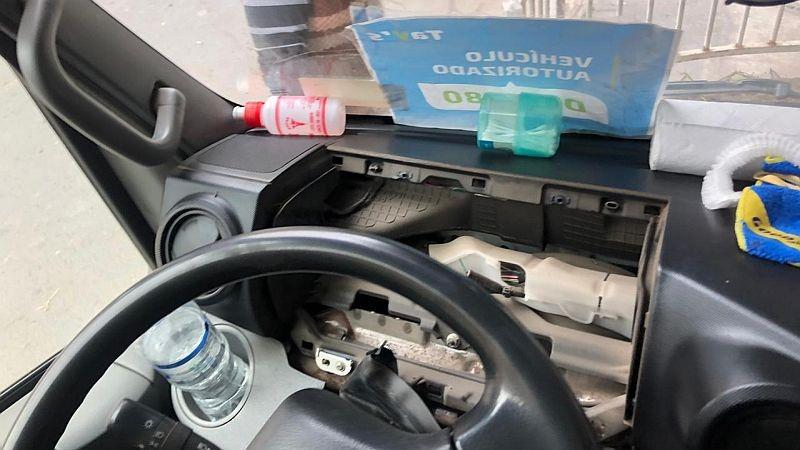 Los delincuentes se llevan diversas partes de los autos estacionados.