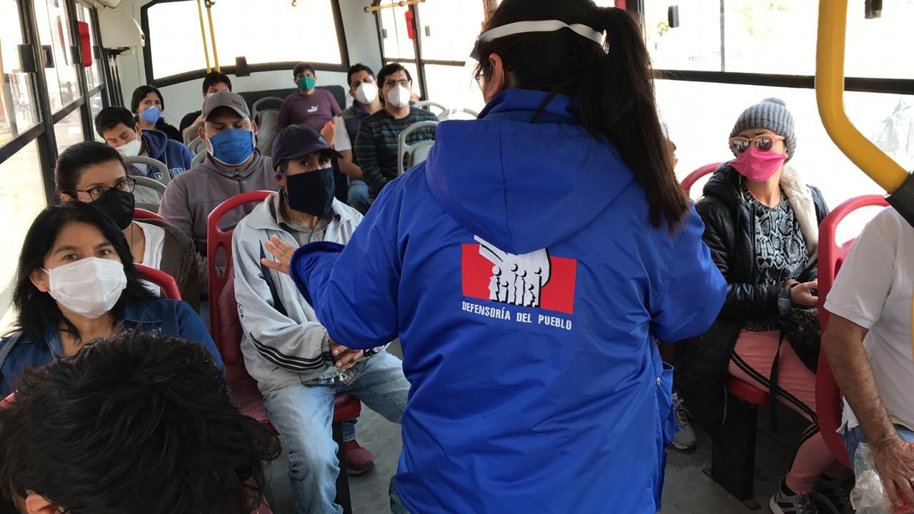 Los transportistas justificaron el incumplimiento de protocolos por la necesidad de servicio.