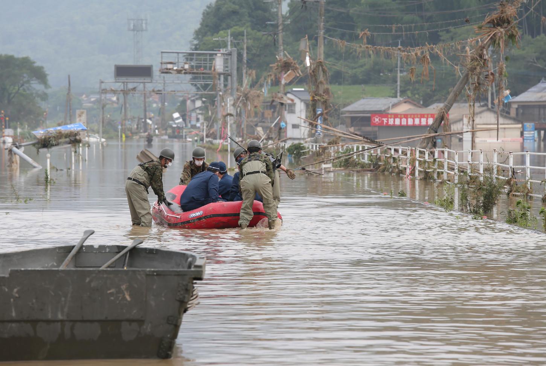 En las inundaciones de 2018, más de 200 personas perecieron en las inundaciones.