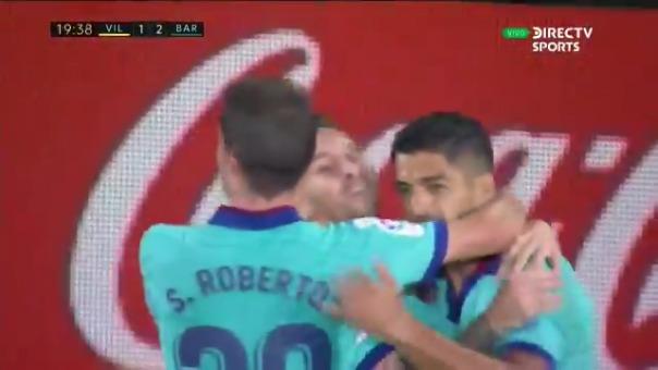 Luis Suárez anotó su gol 194 y alcanzó a Kubala