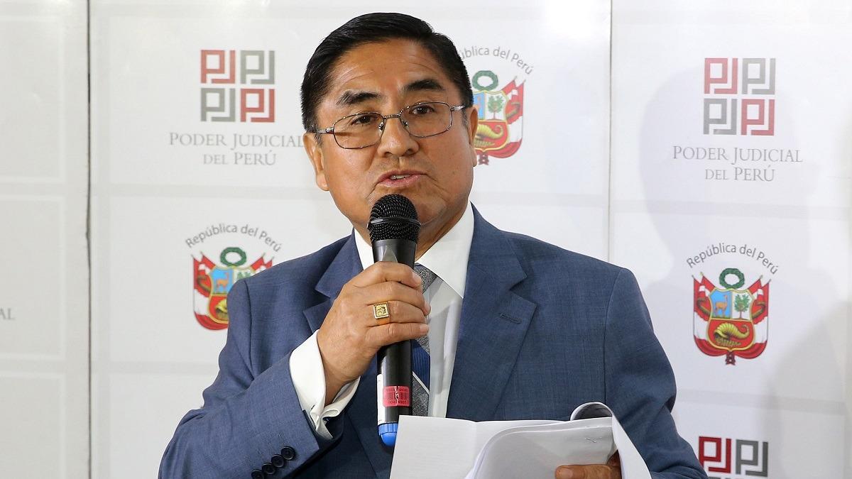 César Hinostroza habló en exclusiva con RPP Noticias.