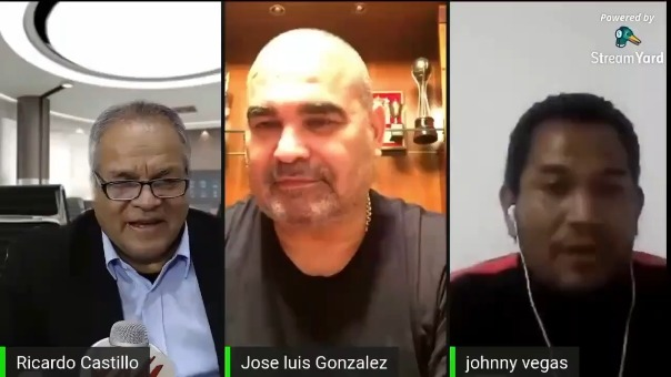 José Luis Chilavert y Johnny Vegas.