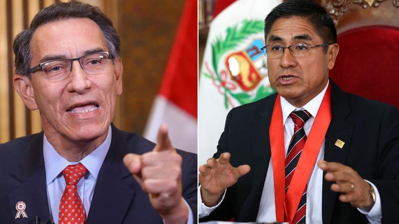 El presidente Vizcarra se refirió al caso César Hinostroza.