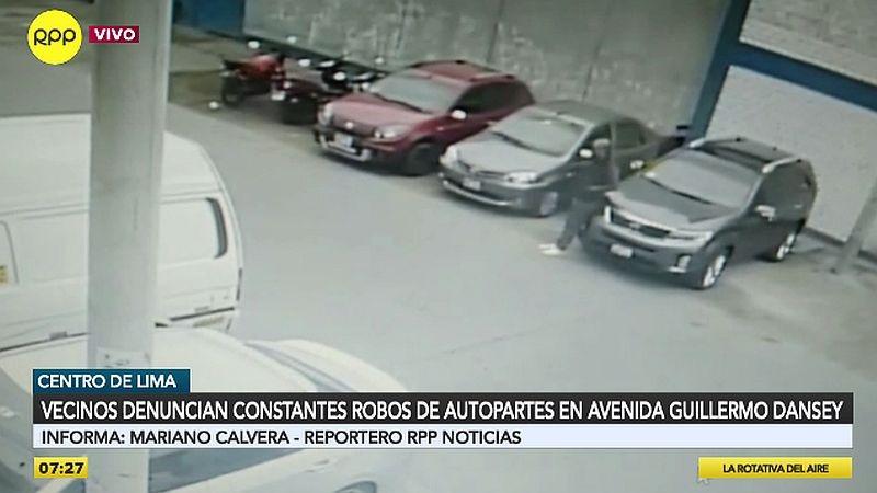Vecinos denunciaron estos robos a través del Rotafono.