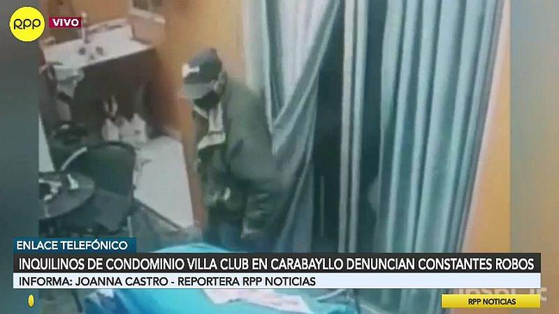 Las cámaras de seguridad captaron al anciano ladrón en acción.