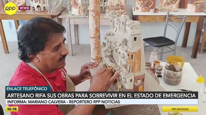 Los artesanos están pasando por problemas económicos durante la pandemia.