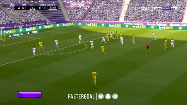 Barcelona vs. Real Valladolid