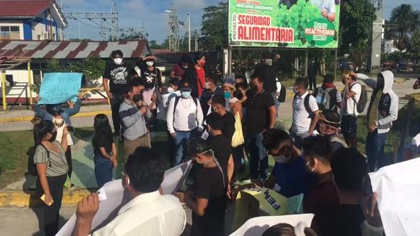 Ellos anunciaron que esta protesta también se realizará en las demás regiones amazónicas.