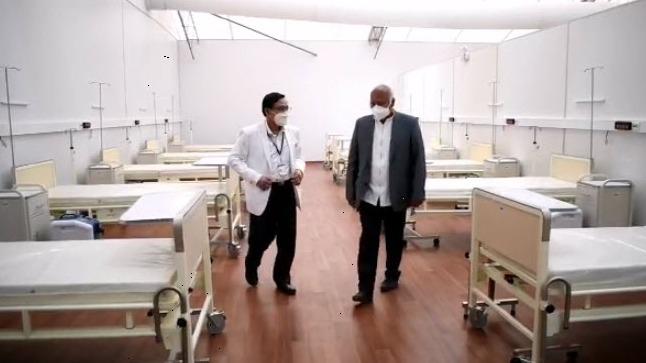 Hospital solo recibirá a pacientes transferidos de otros centros de salud.