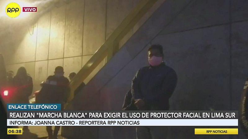 El uso de protectores faciales será obligatorio en los buses cuando acabe la 'marcha blanca'.