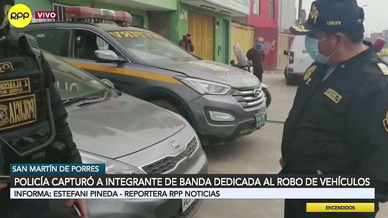 Los coches robados fueron hallados en una zona de SMP donde hay varios talleres.