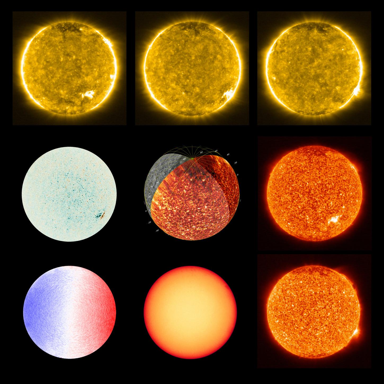 La misión mide diversos parámetros del Sol con varios instrumentos