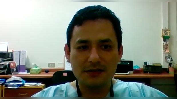 Fernando Mejía, infectólogo del Hospital Cayetano Heredia, explica qué se debe hacer si el oxígeno marca menos de lo normal en el oxímetro de pulso