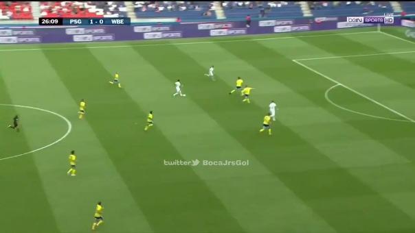 Neymar anotó de penal.