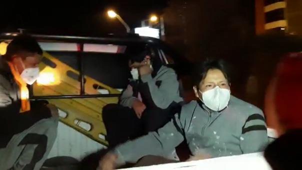 La doctora Ninoska Luna Valdez de 38 años, quien informó sobre la defunción del paciente, fue agredida.