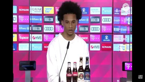 Estas fueron las declaraciones de Leroy Sané en su presentación con Bayern Munich.