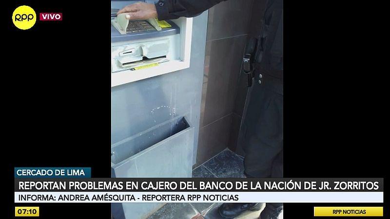 Esta es la denuncia que hizo Luz Orellana a través del Rotafono.