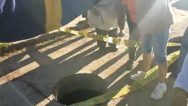 Familiares de la joven responsabilizaron a las autoridades del accidente.