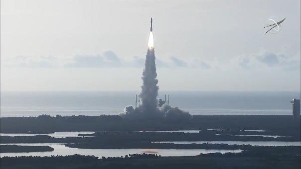 El lanzamiento se llevó a cabo a las 6.50 a. m. (Perú) desde la plataforma 41 de Cabo Cañaveral.