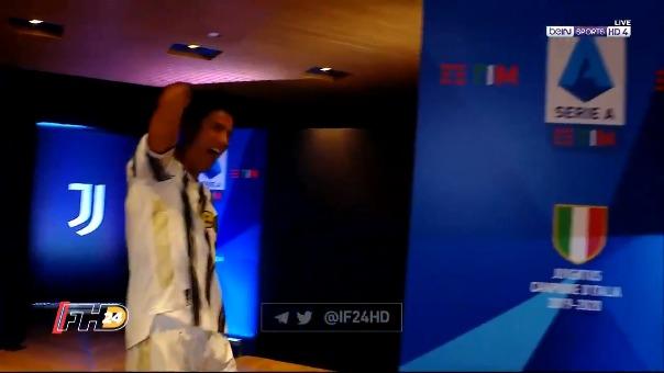 Cristiano Ronaldo y su divertido baile que es sensación en las redes sociales