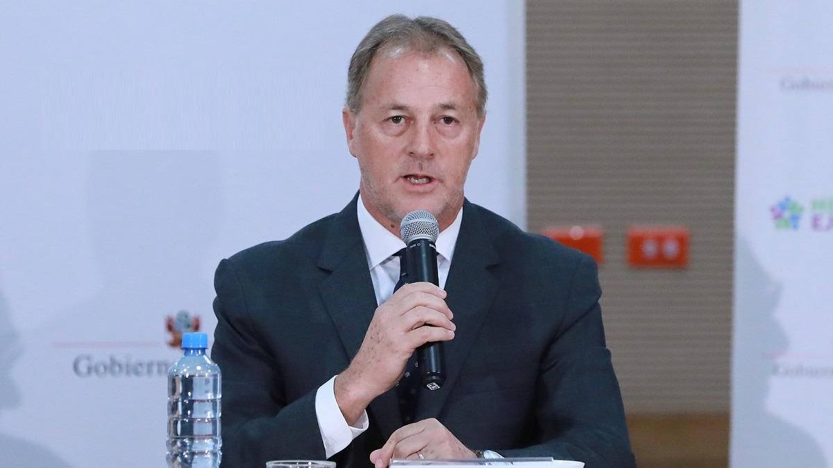 Jorge Muñoz, alcalde de Lima.