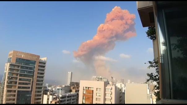 Las deflagraciones, cuyo origen se desconocía por el momento, fueron oídas en varios sectores de la ciudad.