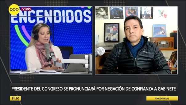 Reina Bustamante habla sobre la Ley de Cáncer Infantil aprobada por el Congreso.