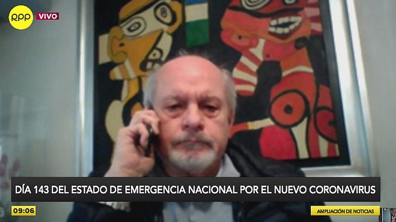 Pedro Cateriano estuvo esta mañana en Ampliación de Noticias.