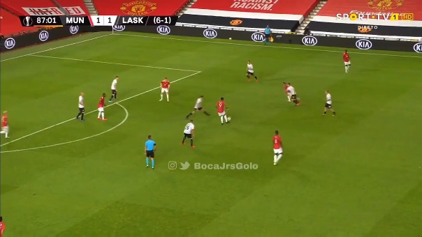 Anthony Martial marcó el gol del triunfo para el Manchester United.