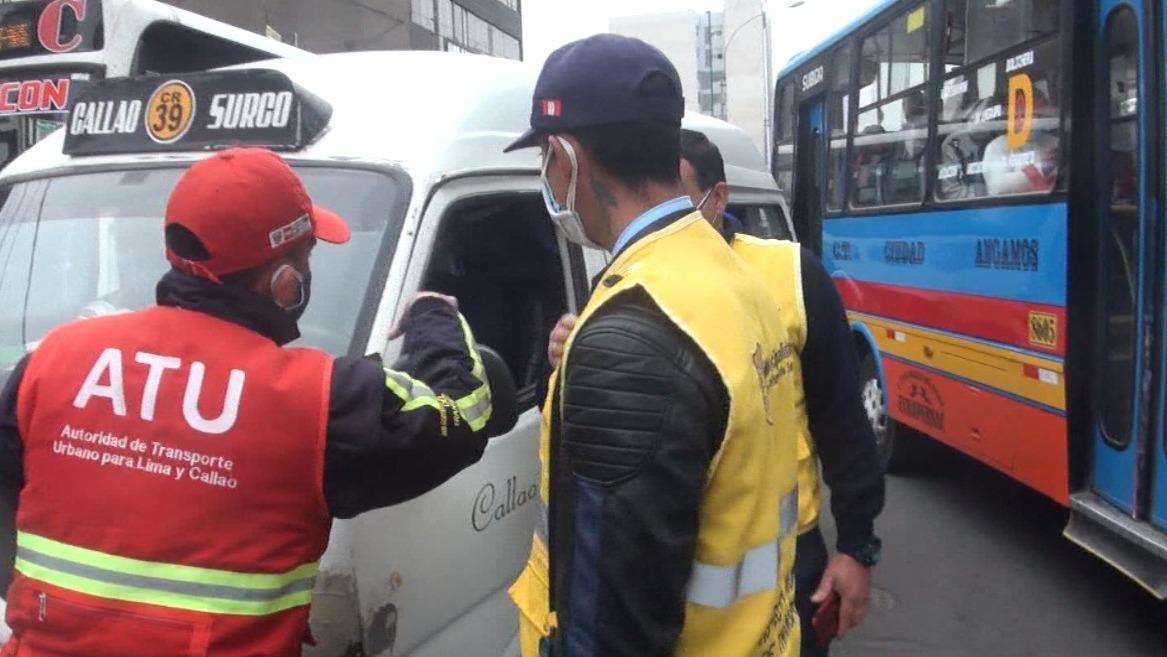 Intervención ocurrió en la cuadra 37 de la avenida Tomás Marsano.
