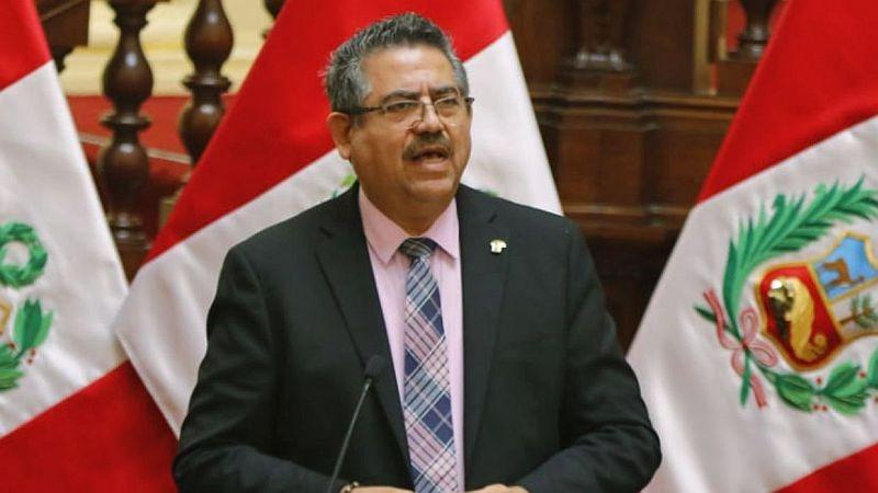 Manuel Merino aseguró que esta tarde se reunirá con Walter Martos.