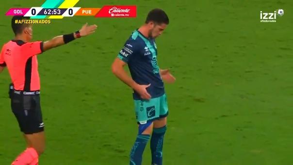 Santiago Ormeño marcó un golazo en la victoria del Puebla ante Chivas Guadalajara