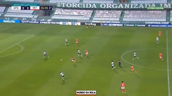 Asís fue el gol de Paolo Guerrero con Internacional.