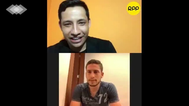 Santiago Ormeño responde divertido ping pong
