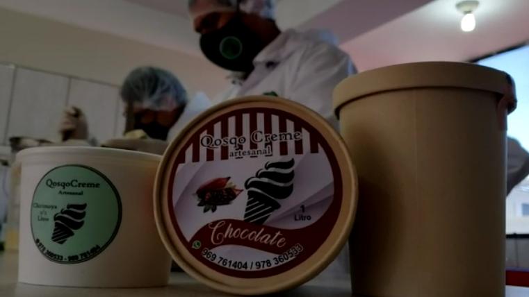 El helado de guanábana es uno de los más pedidos.