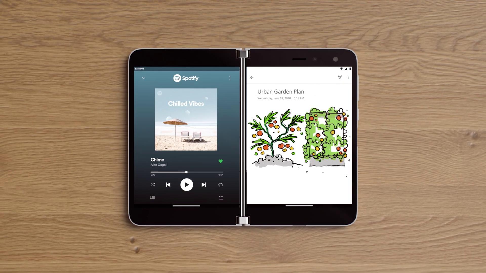Surface Duo llegará con Android 10.
