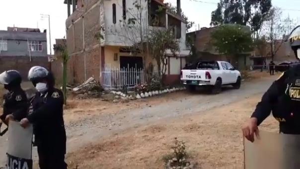 En esta vivienda fue encontrado el cuerpo del menor de 16 años que desapareció el pasado 28 de julio.