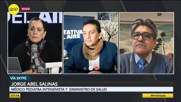 Abel Salinas, exministro de Salud