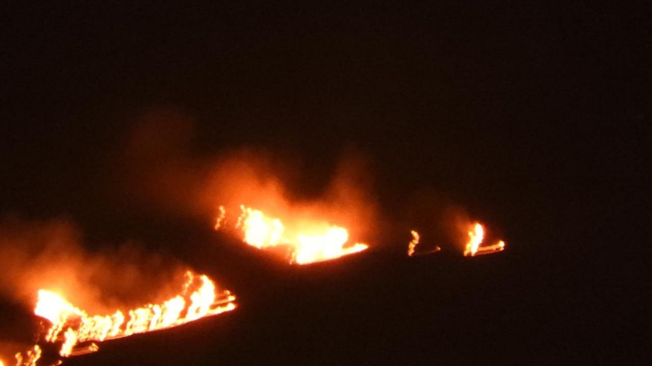 Las fogatas que realizan las personas que ascienden al volcán Misti, son las que causan estos siniestros.