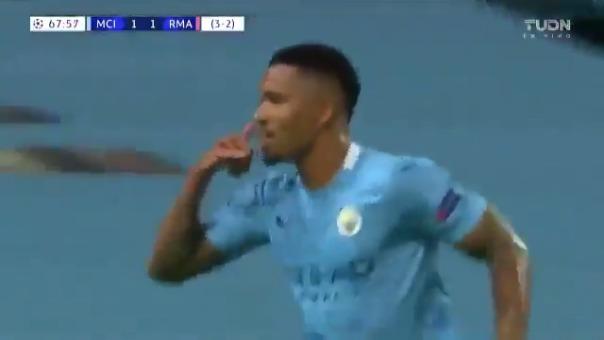 Gol de la victoria de Manchester City ante Real Madrid