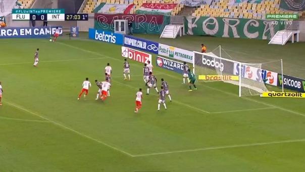 El gol de Paolo Guerrero.